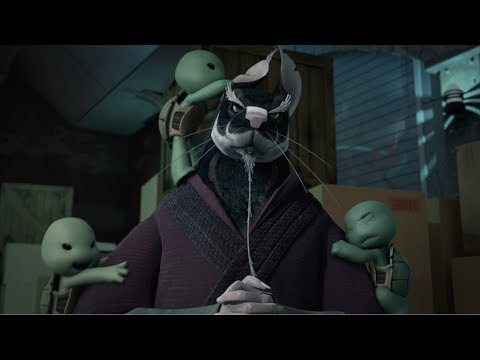 Teenage Mutant Ninja Turtles: Splinter Names the Turtles  Exclusive Clip