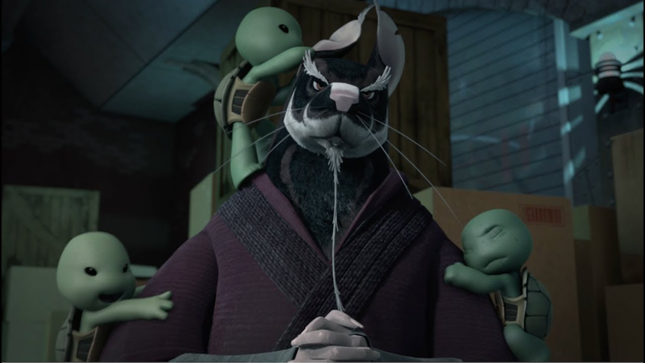 Teenage Mutant Ninja Turtles: Splinter Names the Turtles ...