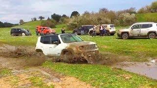Compilação: Jeep Renegade Na Lama (Compilation: Jeep Renegade Off Road)
