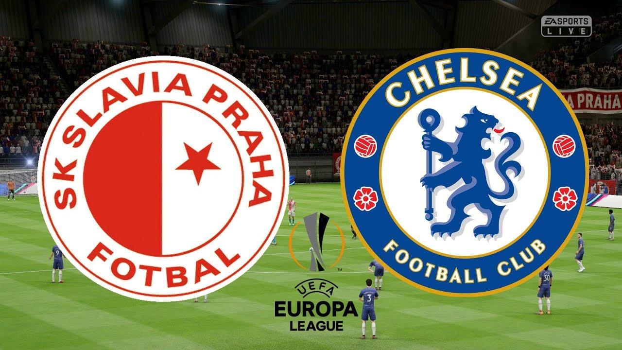 Uefa Europa League  Slavia Praha Vs Chelsea St Leg