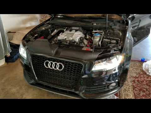 Audi S4 with CTS intake
