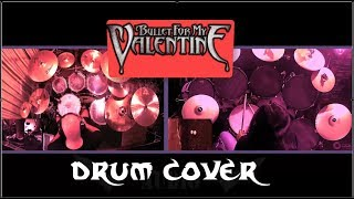 Bullet for my valentine YOUR BETRAYAL Drum Cover with collaboration
