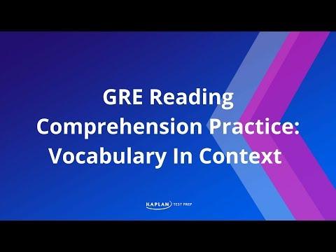 GRE Test Information