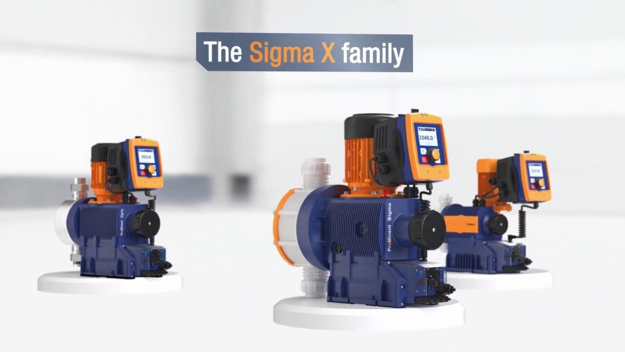 Motor-Driven Metering Pump Sigma X Control Type – Sigma/ 1 - S1Cb
