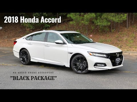 2018 Honda Accord | All Black Accessories. Hennessy Honda