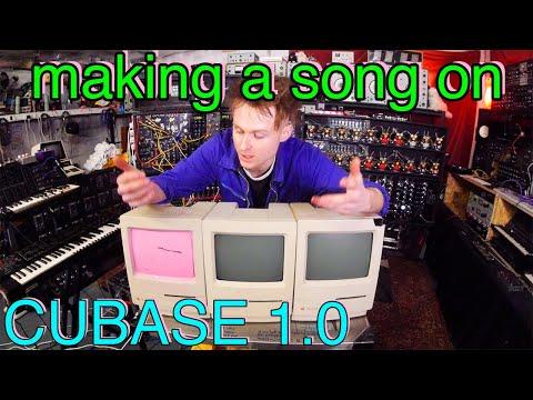 Music On An OLDSKOOL Apple Macintosh Classic and CUBASE 1.0