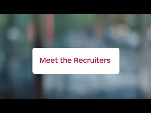 Meet The Recruiters