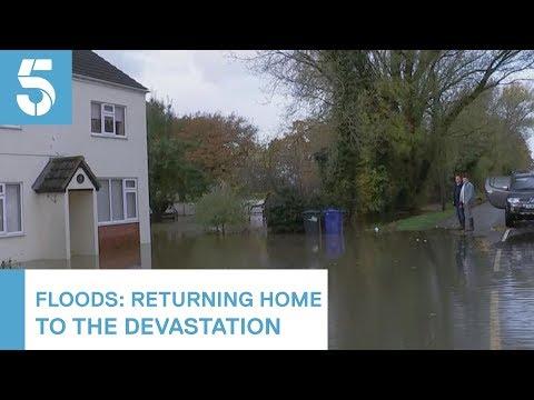 Residents Of Flooded Yorkshire Village Speak Of Their Devastation   5 News