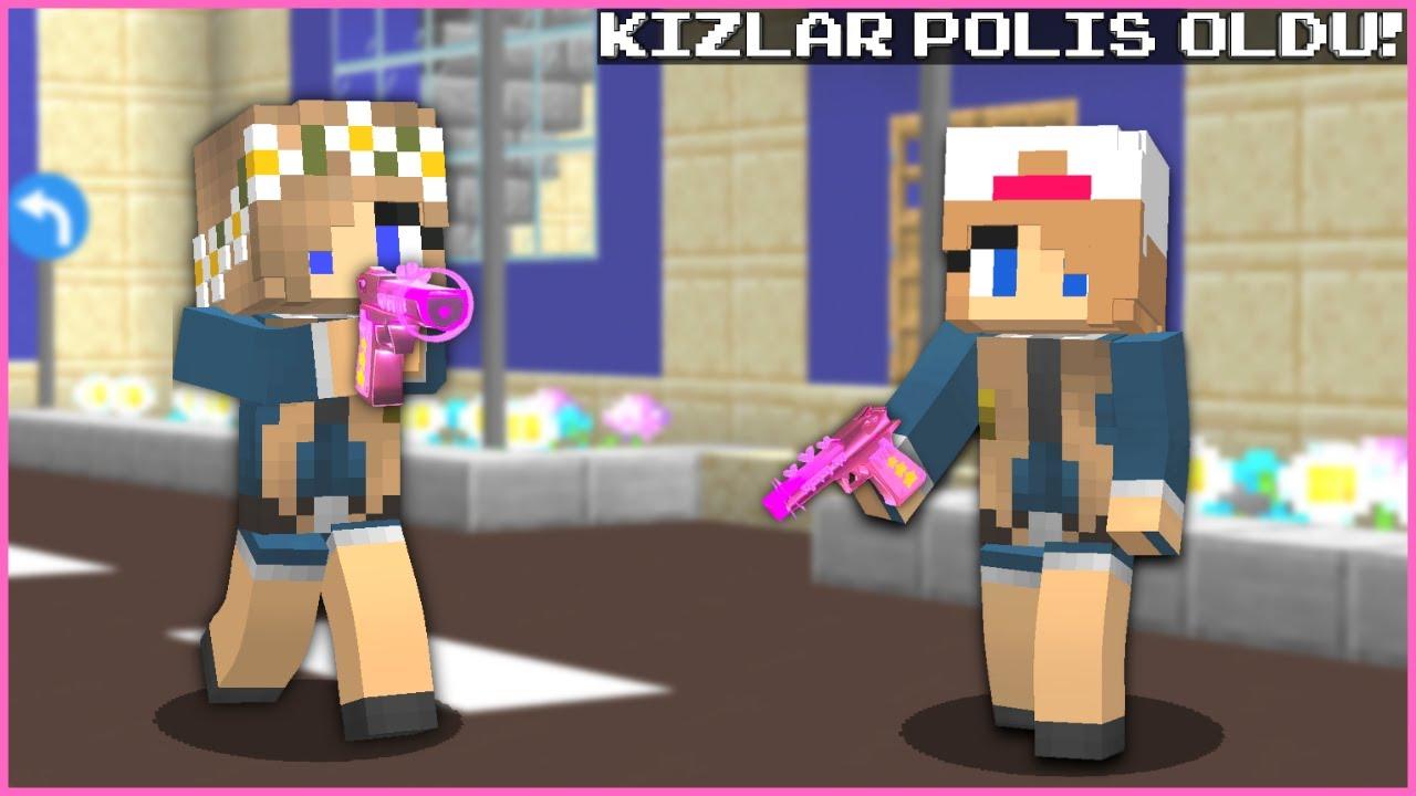Download AYÇA VE ÖYKÜ POLİS OLDU! 😂 - Minecraft