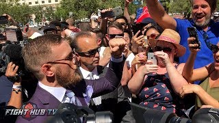 IRISH MOB LAS VEGAS! CONOR MCGREGOR