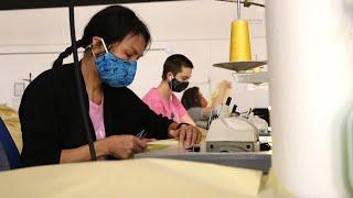 Fashion Incubator Creates PPE Gowns