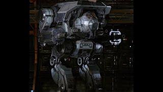 MechWarrior online игра про роботов на русском.  Смотр на Dire Wolf Стальное чудовище!