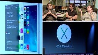 Les nouveautés Apple au WWDC 2013 - Cnet Live