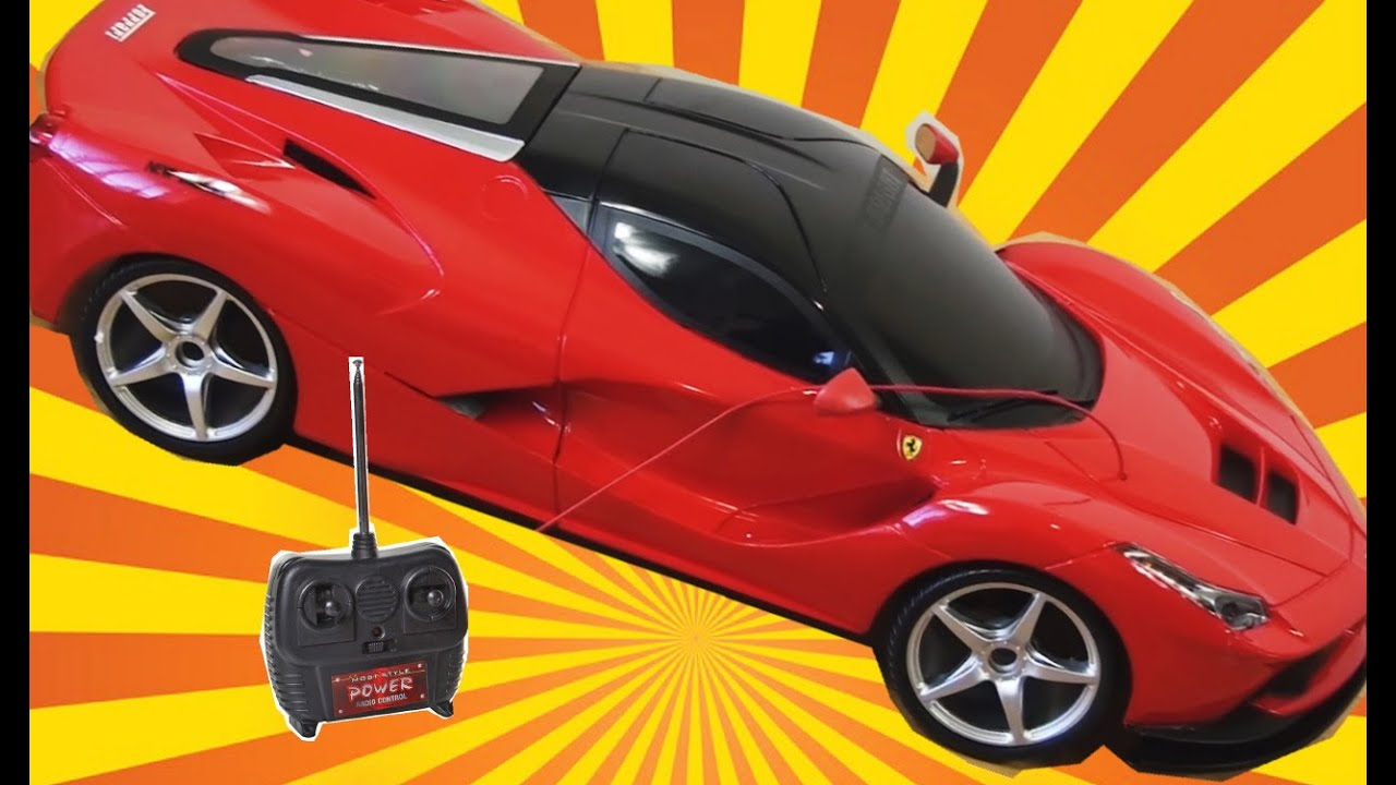 Laferrari Ferrari Remote Control Car By New Bright - YouTube