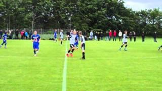 Varde-KFC U14. Resultat: 2-3 - Fodbold U14 (98) række 609 2. halvleg Del 1 - lørdag 23. juni 2012