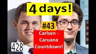 4 days to Carlsen-Caruana! ¦ 'I was playing with a gun to my head!'