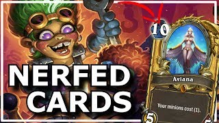 Hearthstone - Best of Nerfed Cards