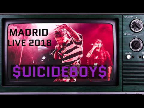 $uicideboy$ - Live in MADRID 24.02.2018| FULL CONCERT l PRE WW3 TOUR 2018|G59| SUICIDEBOYS |[PRORAB]