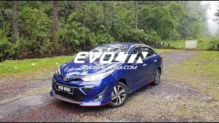 2019 Toyota Vios In Depth Walk around Review | Evomalaysia.com