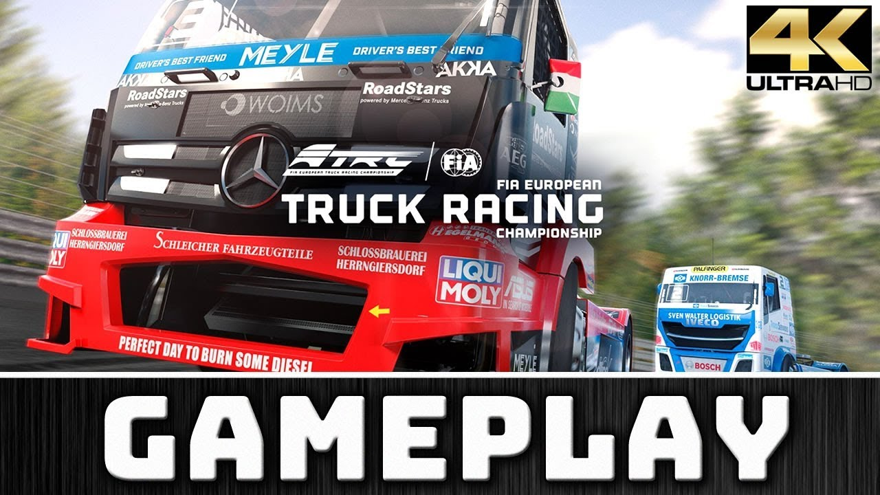 FIA European Truck Racing Championship | 4K & 60 FPS Gameplay on 2080 Ti