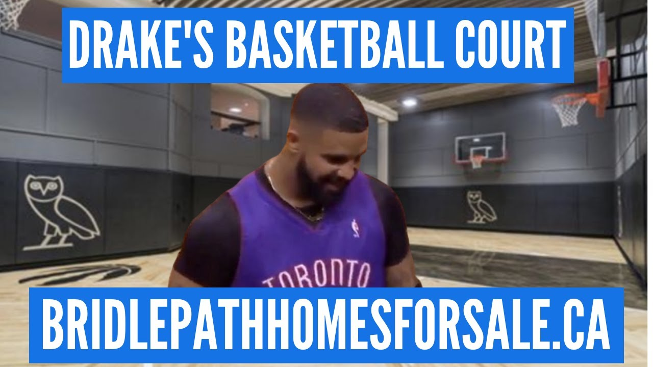 Drake S Home Basketball Court Is Lit The Bridle Path Toronto Youtube