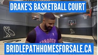 Drake S Home Basketball Court Is Lit The Bridle Path Toronto