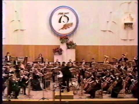Красноярский симфонический оркестр и Евгений Колобов. Юбилей В. П. Астафьева.