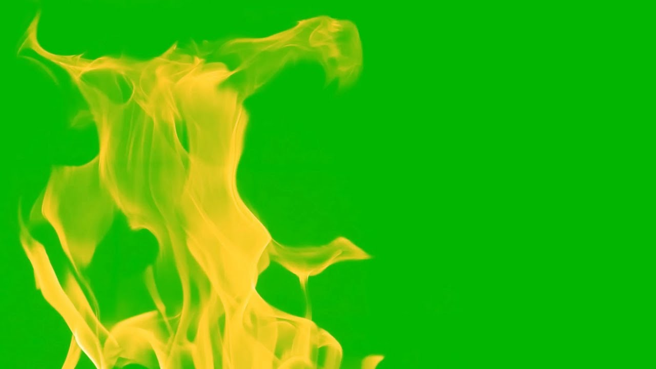 Fire Green Screen Effect Animated Background Video - YouTube