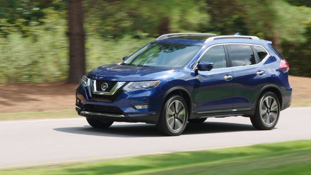 2017 Nissan Rogue Versus Honda Cr V Subaru Forester And