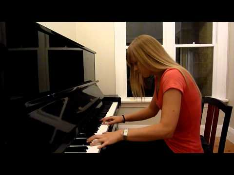Lara plays the Inspector Gadget Theme on piano