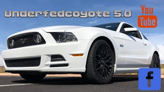 2014 mustang GT auto CAI, tune, DRs