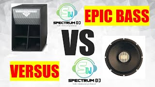 ❌❌❌DUELO DE BAJOS❌❌❌ FRONTALESREBOTES,  ‼EPIC VERSUS, COMPARACION y REWIEV con SPECTRUM DJ!!