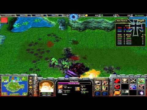 """Warcraft III: The Frozen Throne - 5ª Partida Multijugador - """"Martillos VS Tortugas"""""""