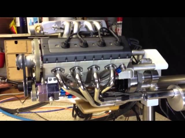 Dont Buy It Build It Tiny Diy 49 Cc V8 Engine W Video