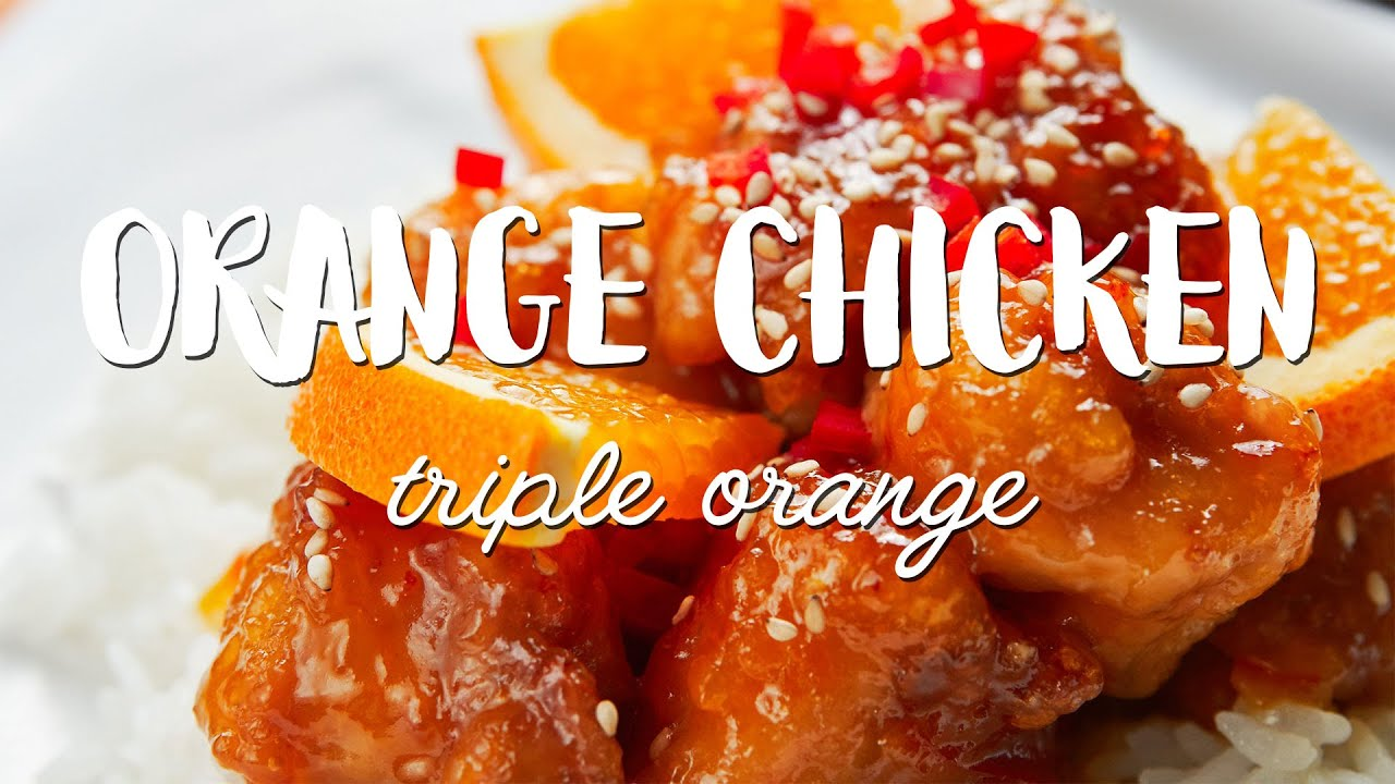Best Orange Chicken Recipe Youtube