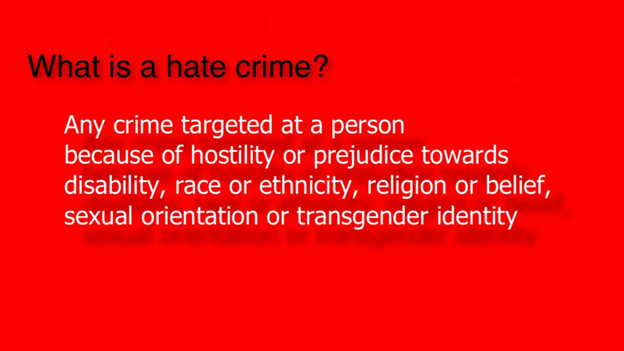 leedsnoplaceforhate | definition of hate crime and contact details
