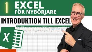 Grundläggande Excel: 1. En introduktion till Excel