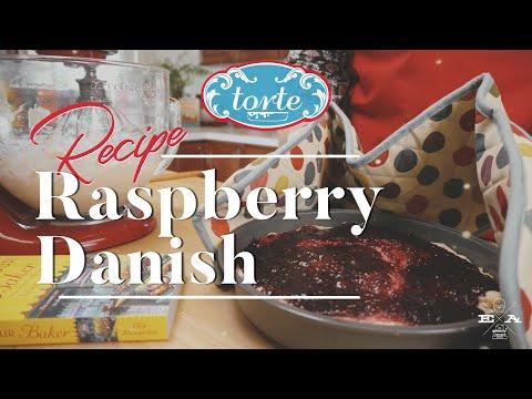 Raspberry Danish Dessert Recipe 🥧 : Torte Test Kitchen