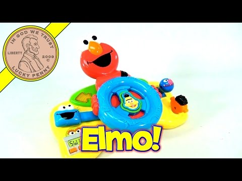 Fisher-Price Sesame Street Giggle N Go Driver - Elmo Driving Toddler Toy