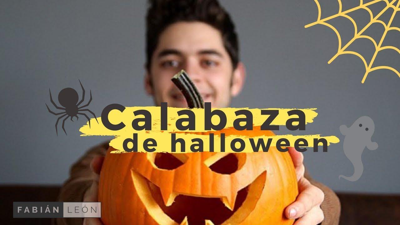 C mo hacer una calabaza para halloween youtube - Como vaciar una calabaza ...