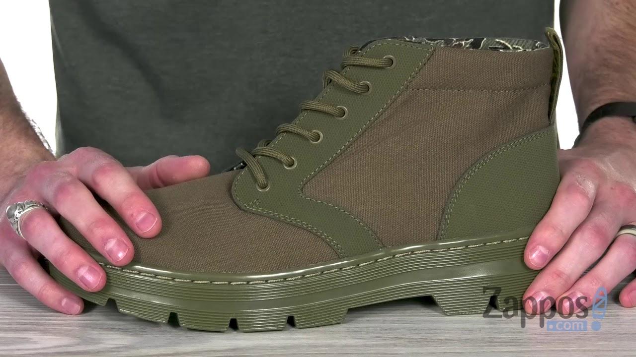 Dr. Martens Bonny Boot Olive Breathable, lightweight