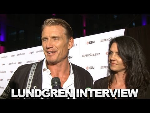 The Expendables 2 Dolph Lundgren Interview - Comic-Con 2012