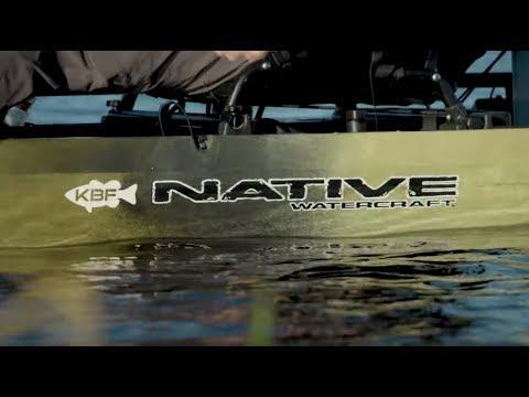 Kayak Bass Fishing   Native Slayer Max Propel  12.5 Walkthrough