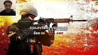 CS GO SSG 08 Pro vs AWP