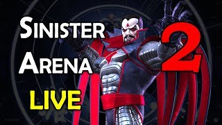 Sinister Arena - Part 2 | Marvel Contest of Champions Live Stream