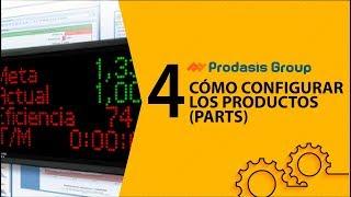 Cómo configurar los productos (Parts)