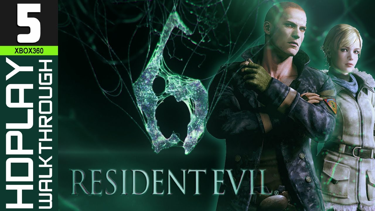 Resident evil 6 Jake and Sherry campaign pt.1 - YouTube