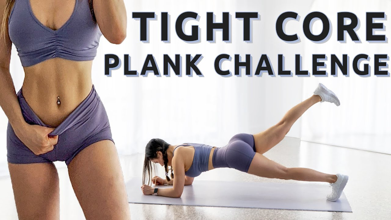 TIGHT CORE WORKOUT | 15 Days Plank Workout Challenge