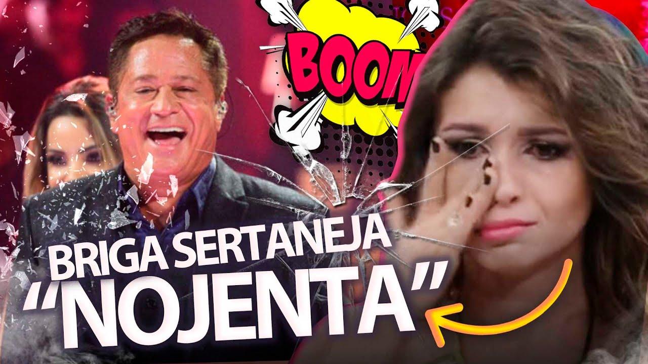 """Com fama de NOJENTA, Paula Fernandes chuta o silêncio e expõe briga com Leonardo: """"Culpados"""""""