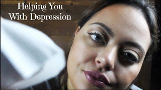 ASMR  World Mental Health Day  Helping You With Your Depression Roleplay